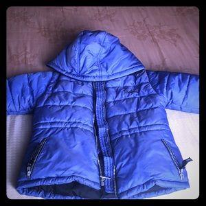 Rothschild Children Winter Blue Warm Coat L(4)